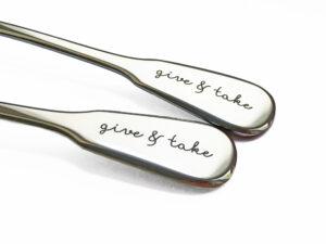 GIVE & TAKE Spaten, Detaill