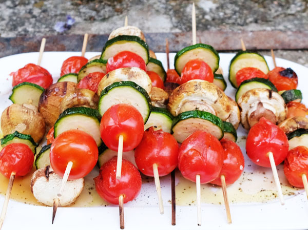 Grillen - Gemüsespieße