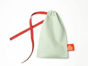 Geschenkverpackung Besteckbeutel mint, klein