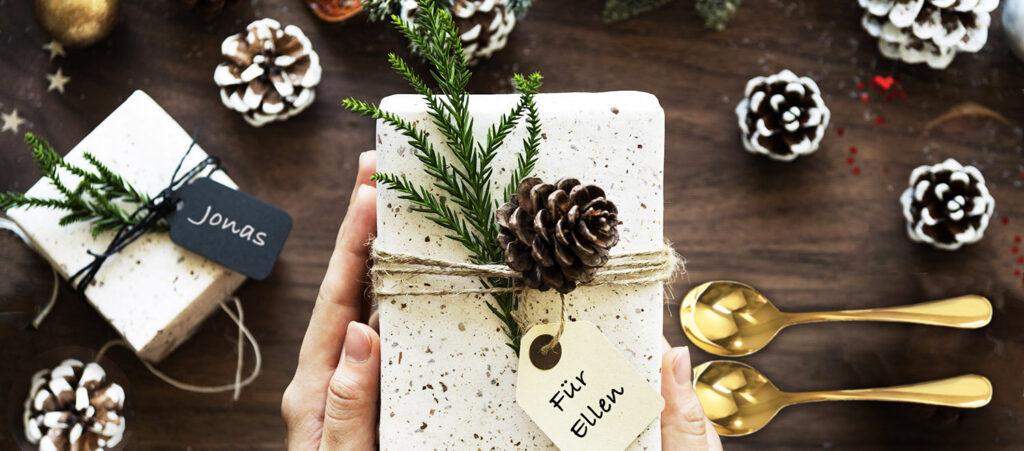 Weihnachtsgeschenke Ideen – Deko Namensschilder