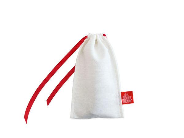 Geschenkverpackung Bestecktbeutel, klein, weiß