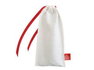 Geschenkverpackung Bestecktbeutel, groß, weiß