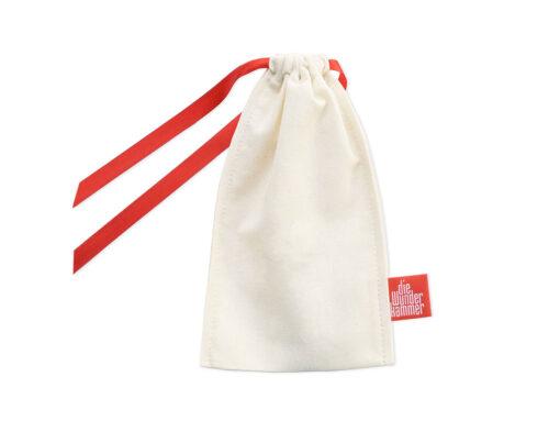 Geschenkverpackung Besteckbeutel bomull (cream), klein